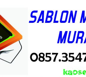 Jasa Sablon Kaos Manual