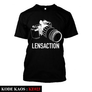 Kaos Fotografi LensAction